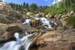 Horseshoe Falls, Rocky Mountain Natl Park, Colorado