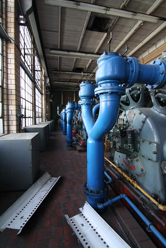 DELPHI PLANT POWER HOUSE COMPRESSOR ROOM