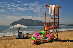 A Colorful Moment at Manzanillo (Jeff Clow) Tags: travel vacation beach mexico mexicanriviera manzanillomexico tamronspaf1750mmf28dillvc