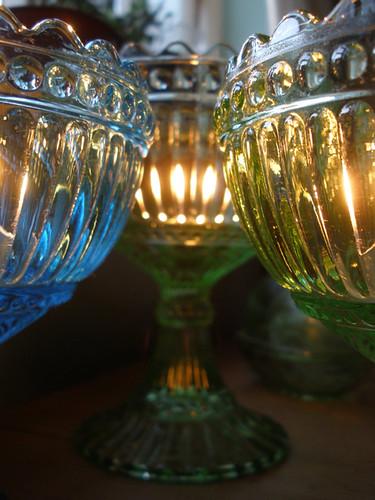 Nightlights and Finnish glass