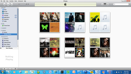 itunes 9 genius player menu