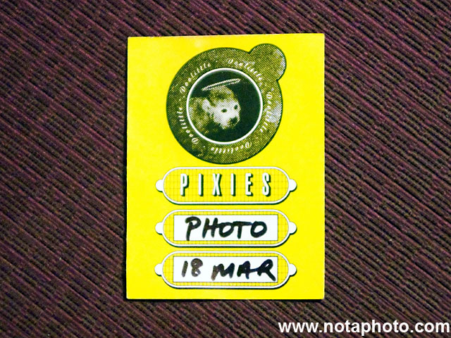 Pixies Photo Pass