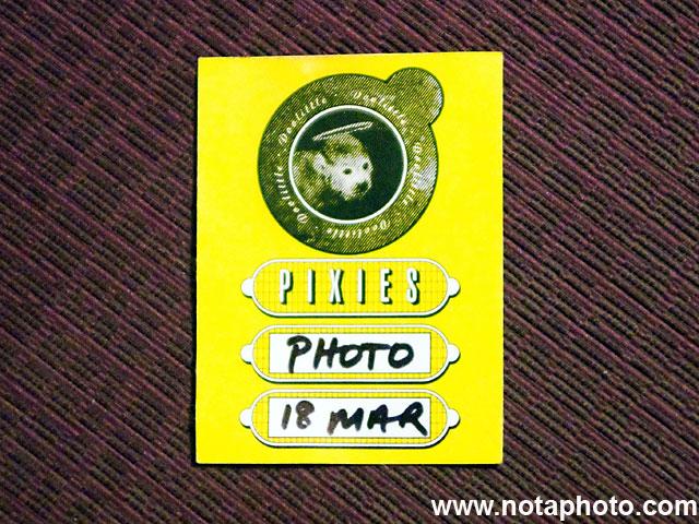 Pixies Photo Pass