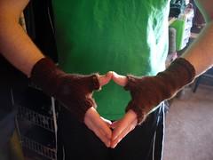 Brown Warmer (done) (Yarn4Ewe) Tags: knitting knit knits knitted knitter