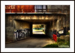 New Brighton Park (Clayton Perry Photoworks) Tags: park city canada art sign vancouver train canon graffiti paint downtown track bc britishcolumbia tag tracks tunnel tagged signage spraypaint walls eastside dtes taging newbrightonpark canonphotography 1dmarkiii canon1dmarkiii