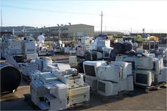 Electronics Awaiting Recycling
