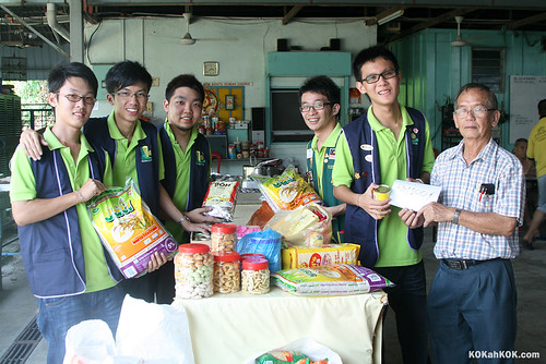 CNY Canned Food Collection and Donation project 2010