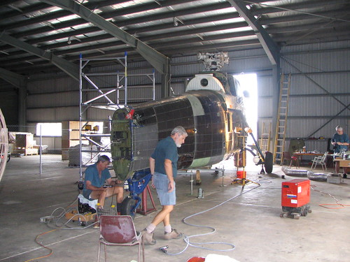 AHSNT Ex RAN Wessex Helicopter Repairs November 2005