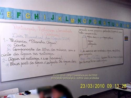 Uso Racional da Agua - 23/03/2010.