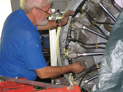 AHSNT Member Ted Hurn and the Pratt and Whitney Engine February 2007
