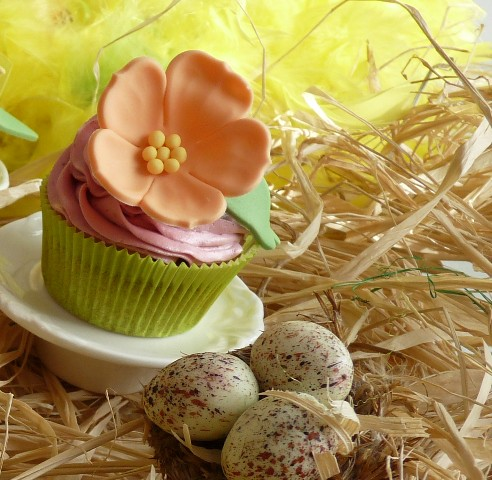 Spring and Easter Cupcakes