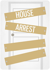 house arrest (madfishes) Tags: poster redesign housearrest
