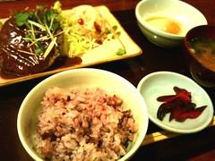 町田八分目の日替わり定食