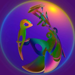 Bird of Paradise (freetoglow (Gloria)) Tags: sensational fractal visualart hypothetical incendia wowiekazowie eyecandyart photoartwork colourmania