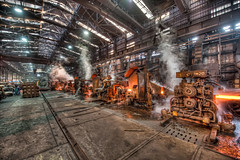 Steelworks company, Vicenza, Italy (Mia Battaglia photography) Tags: industry steel afv steelworks beltrame flickrunitedaward