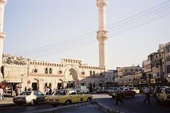 アンマンの中心部(ヨルダン)