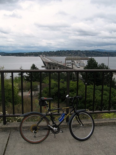 Biking I90 - West Overlook