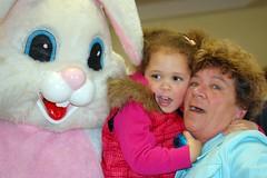 Easter Bunny, Shae & Nana