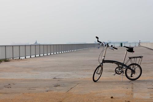 Morning Ride on East Coast Park