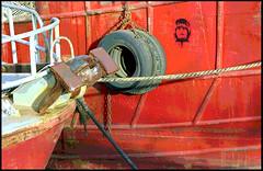 Amarras (qmontesano) Tags: film nikon barcos ships ports puertos analgico