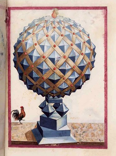028-Geometrische und perspektivische Zeichnungen-Siglo XVI