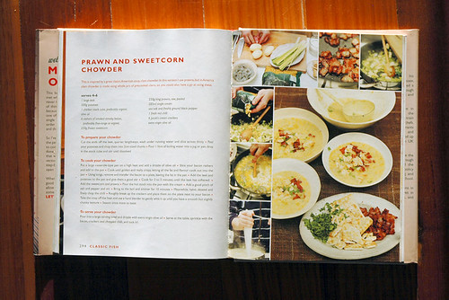 Rosiecasie prawn and sweetcorn chowder recipe the whole premise of jamie olivers ministry of food book is to pass the recipe on so catherine because you asked im sharing the recipe forumfinder Image collections