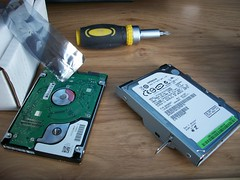 PS3 HDD Upgrade - Swapping Disks
