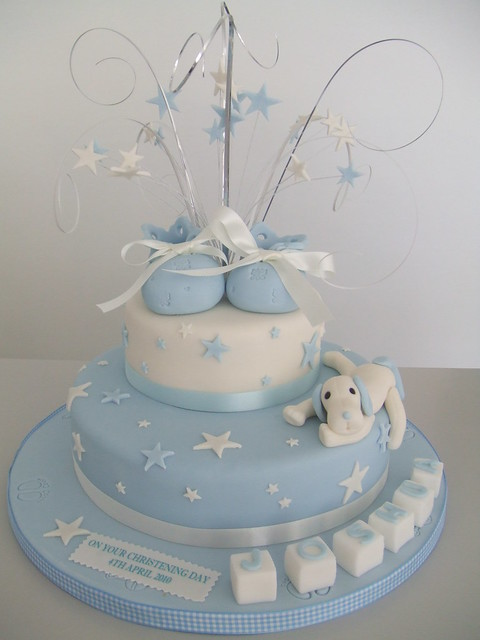 christening cakes for boys. cake boys christening 2