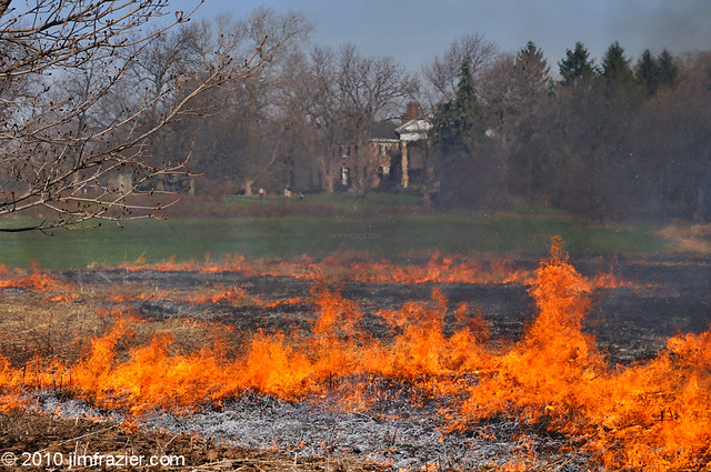 Cantigny on Fire