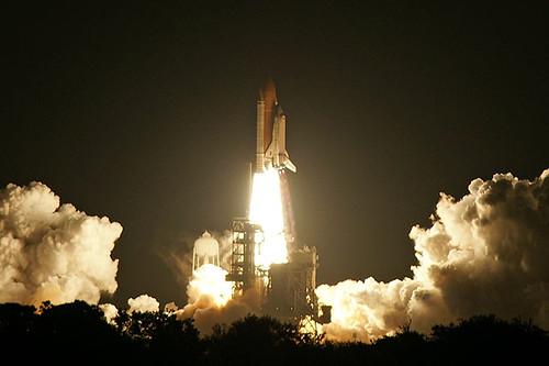 STS-131 Space Shuttle Discovery