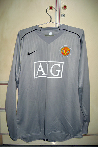 Manchester United 2007-2008 Goalkeeper Reserves L/S (Player Issued)