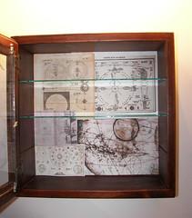 Medicine Cabinet; redone (suehawkins) Tags: collage bathroom bath physics astronomy hygiene snoop medicinecabinet alchemy medicinechest
