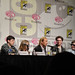 Kick-Ass panel - Christopher Mintz-Plasse, Chloe Moretz, Nicolas Cage, Aaron Johnson, Clark Duke