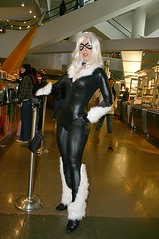 Black Cat at the Mall (Roxanna Meta) Tags: blackcat comics costume comic cosplay marvel wondercon wondercon2010