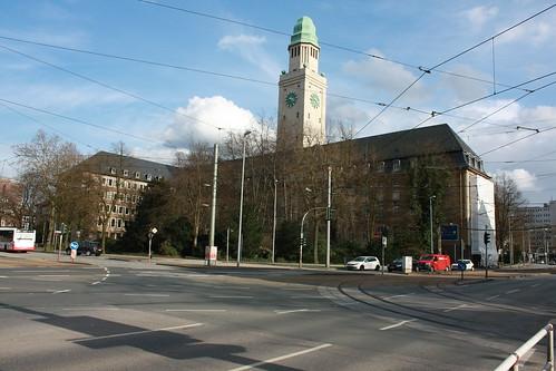 Foto von Gelsenkirchen Buer Rathaus März 2010