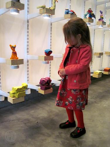 100 lb interactive clay exhibit