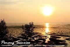 Sunrise |  (lorrissa) Tags: world morning travel sea sky orange sun green nature sunrise drive asia earth explore malaysia penang  lanscape yello global  gurney gurneydrive morningsun         flirck     travelpenang visitpenang