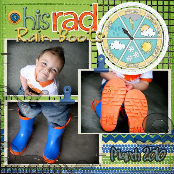 Rain Boots Side 1