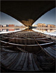 Cross the Bridge (a.Kry) Tags: morning spring russia moscow    unknownmoscow akryphotoart
