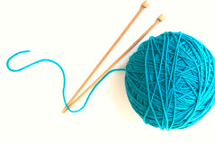 Begin at the beginning and go on till you come to the end; then stop. (KimFearheiley) Tags: wool knitting yarn knittingneedles needlecraft ballofyarn yarnball knittingsocks