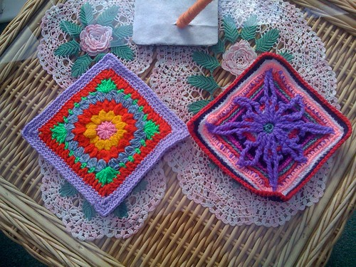 Here's a close up of Valeries' Squares.