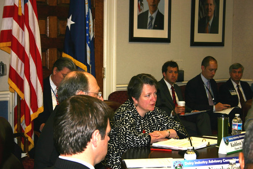 Deputy Secretary Kathleen Merrigan told members of the Dairy Industry Advisory Committee that looking at the industry's history will help develop long-lasting solutions.