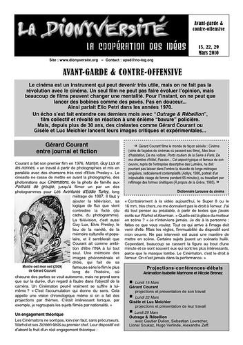 Avant-garde & Contre-offensive, mars 2010