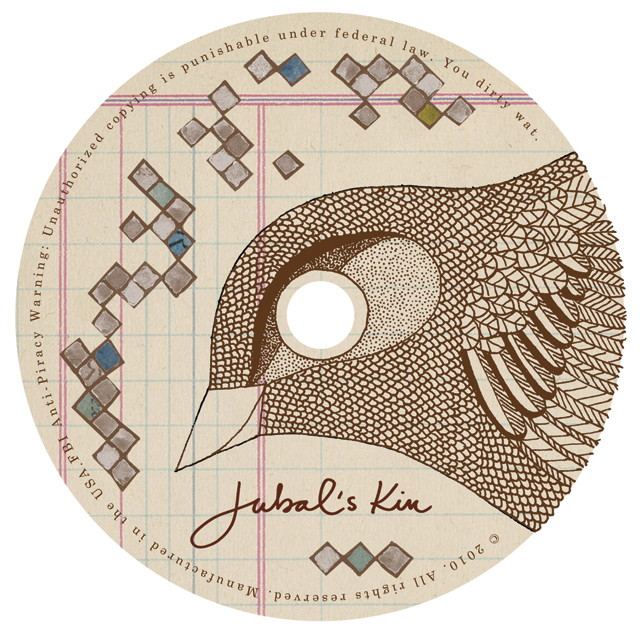Jubal's Kin CD design