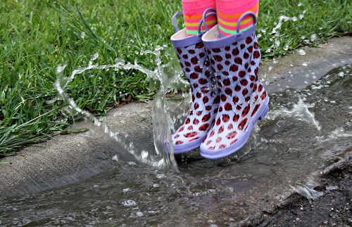 puddle jumping boots