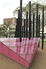 Pink triangle memorial