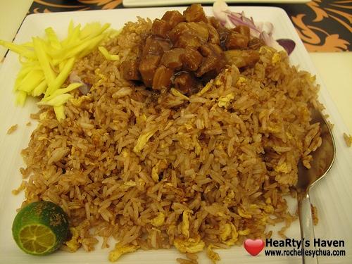 bagoong rice siam