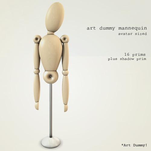 art dummy mannequin
