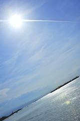 Geometrie Celesti (Cristina Lanaro _ Cricricri) Tags: blue venice light sky italy sun backlight clouds cristina cielo sole venezia azzurro luce controluce raggi celeste geometria 3570 lanaro d700 sanpietroinvolta cristinalanaro