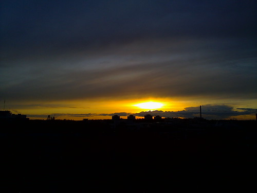 Ash sunsets
